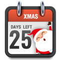 Xmas Countdown Timer Widget Icon
