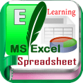 Learn for Microsoft Excel Spreadsheet Icon