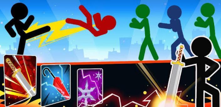 Stickman Fighter : Mega Brawl (stick fight game) apk