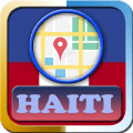 Haiti Maps and Direction Icon