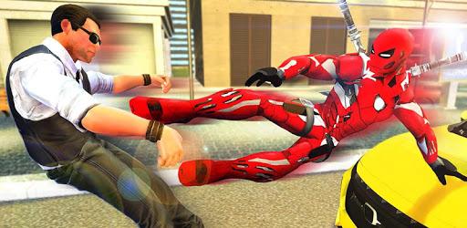 Superhero Game: City Ninja Robot Street Fights apk