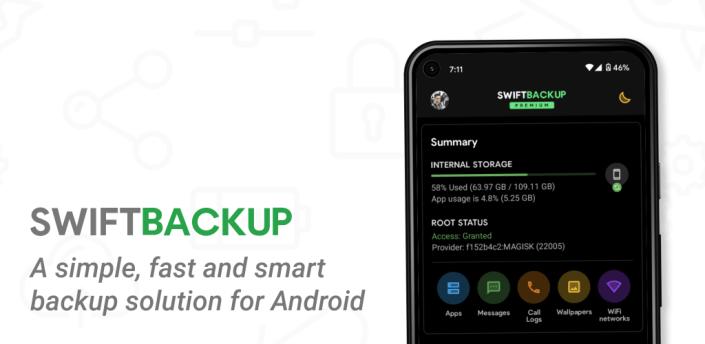 Swift Backup apk