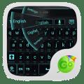 GO Keyboard Black Cyan Theme Icon
