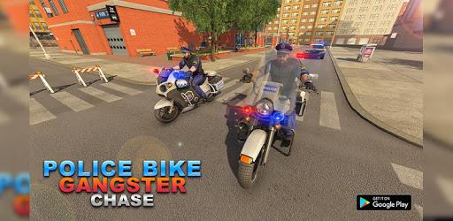 US Police Motor Bike Chase : Vegas Gangster Crime apk