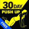 30 Day Push-Ups Trainer Free Icon
