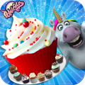 Mr. Fat Unicorn Cooking Game - Giant Food Blogger Icon