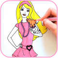 Как рисовать кукол поэтапно Icon