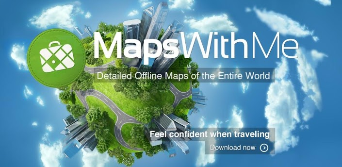 MAPS.ME Offline Map & Routing apk