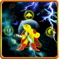 Angry Stickman : Super Galaxy Icon