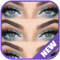 Beauty Eye make up for woman Icon