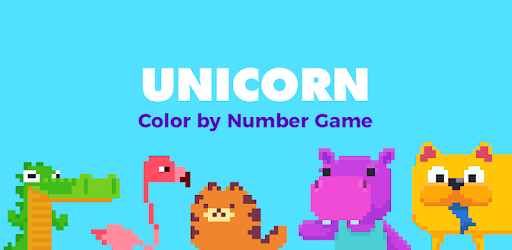 UNICORN: Colour by Numbers Pixel Art Game apk