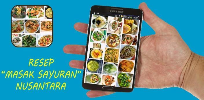Resep Masak Sayuran Nusantara apk