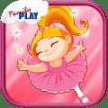 Ballerina Kids Games Free Icon