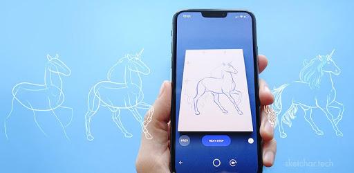 SketchAR: learn to draw step by step with AR apk