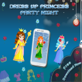 Dress Up Princess Party Out Icon