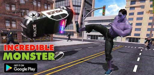 Incredible Monster: Superhero Prison Escape Games apk