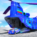 Grand US Police Car Transport Truck: Parking Game Icon