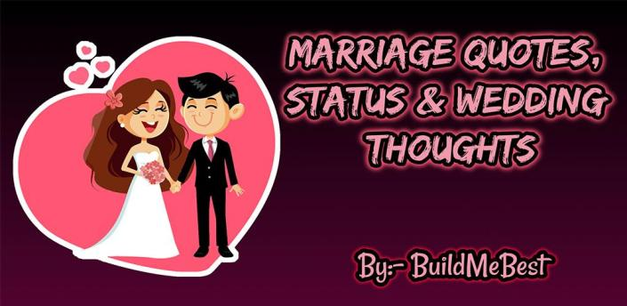 Marriage Quotes in English - Best Wedding Thoughts apk