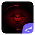 Red Technology Theme Icon