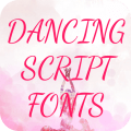 Dancing Script Font for FlipFont , Cool Fonts Text Icon