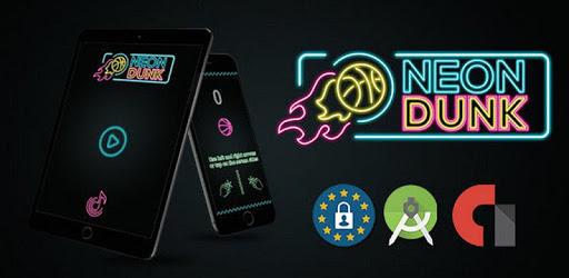 Neon Dunk : Basketball Game apk