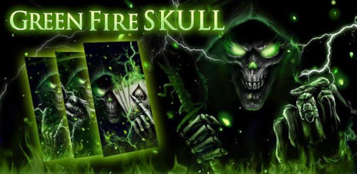 3D Poker Skull Theme Launcher apk