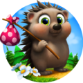 Hedgehog goes home Icon