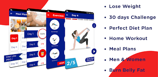 Lose Weight in 30 days: Weight Loss Home Workout apk