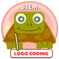 Simple Turtle LOGO - Coding app for Drawing (STEM) Icon
