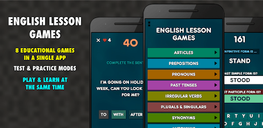 English Lesson Games 8 in 1 - Free apk