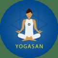 YogaMonk - Yoga In Hindi & Pranayama , Yoga Mudra Icon
