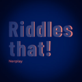 Riddle that! Icon