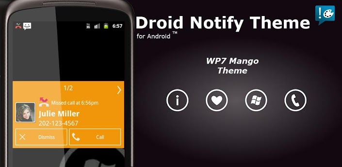 Notify - WP7 Mango Theme apk