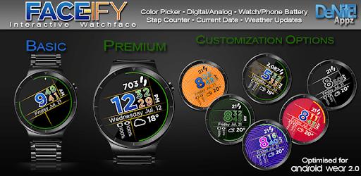 FACE-ify HD Watch Face Widget & Live Wallpaper apk