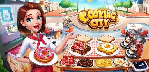 Cooking City: crazy chef' s restaurant game apk