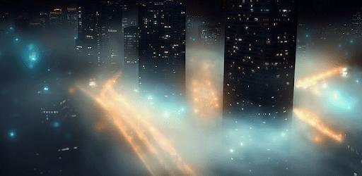 4K Night City Fog Video Live Wallpaper apk