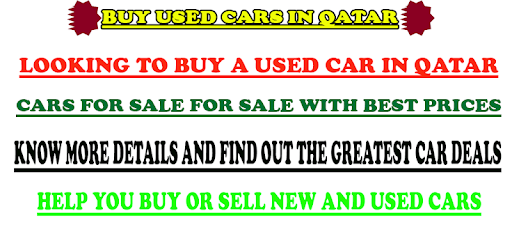 Used Cars For Sale in QATAR apk