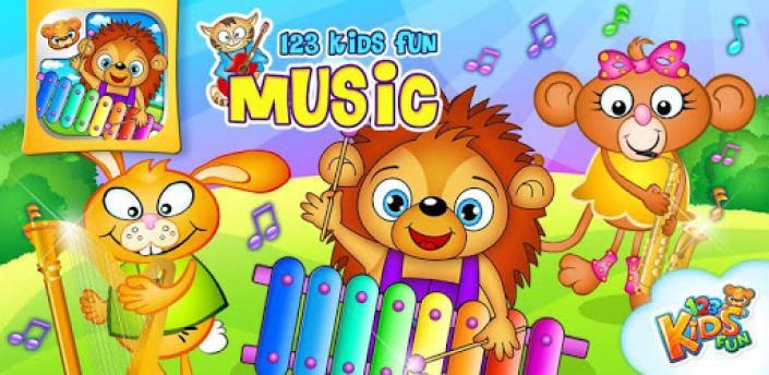 123 Kids Fun Music Games Free apk