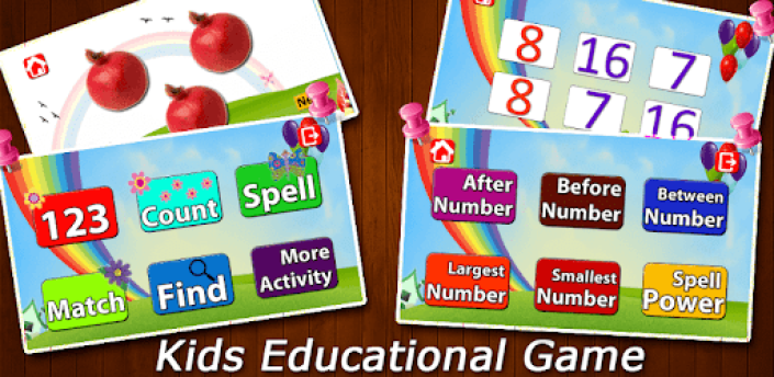 Pro 123 Numbers for Kids – Spelling Learning Game apk