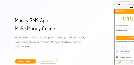 Money SMS   Make Money Online apk
