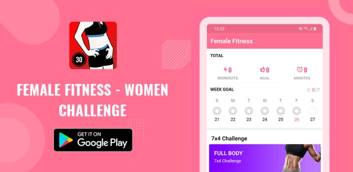 Female Fitness - Women Challenge apk