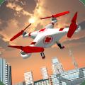QuadCopter Drone:Emergency SIM Icon
