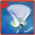 Puzzle - Building design of the future Icon