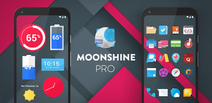 Moonshine Pro - Icon Pack apk