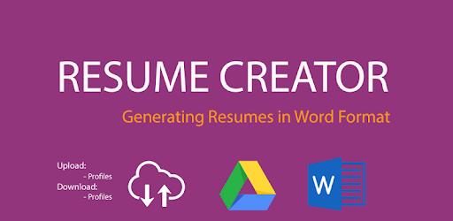 Word Resume Creator Pro apk