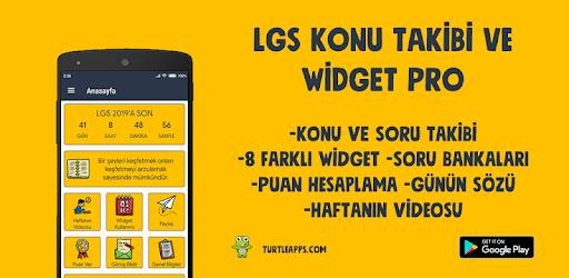 LGS 2020 Konu Takibi ve Widget PRO 4000 Soru apk