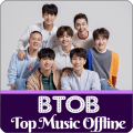 BTOB Top Music Offline Icon