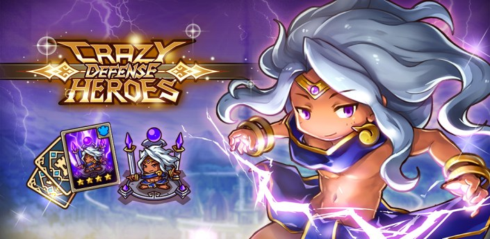 Crazy Defense Heroes: Tower Defense Strategy TD apk