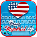 Happy Memorial Day Keyboard Theme Icon