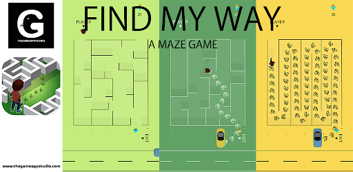 Find My Way - A Maze Game apk